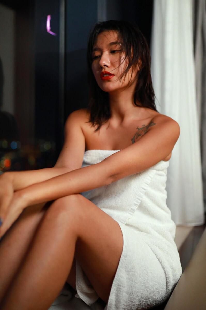 浴后的女神